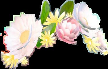flower snapchatfilter crown freetoedit