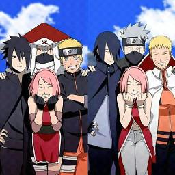 team7 narutouzumaki naruto sasuke sasuke sakuraharuno memories