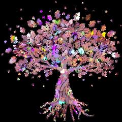 tree glitter freetoedit