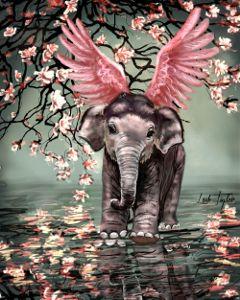 wdpflyingelephants see drawing artwork elephant cute wdpflyingelephants