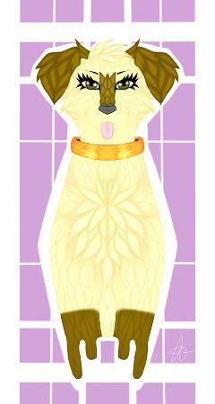 dog cute drawing request digitalart