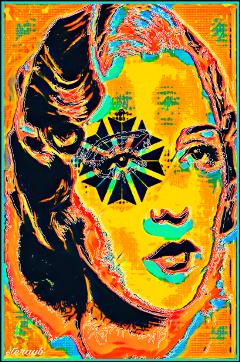 popart colorful psychedelic retro vintage