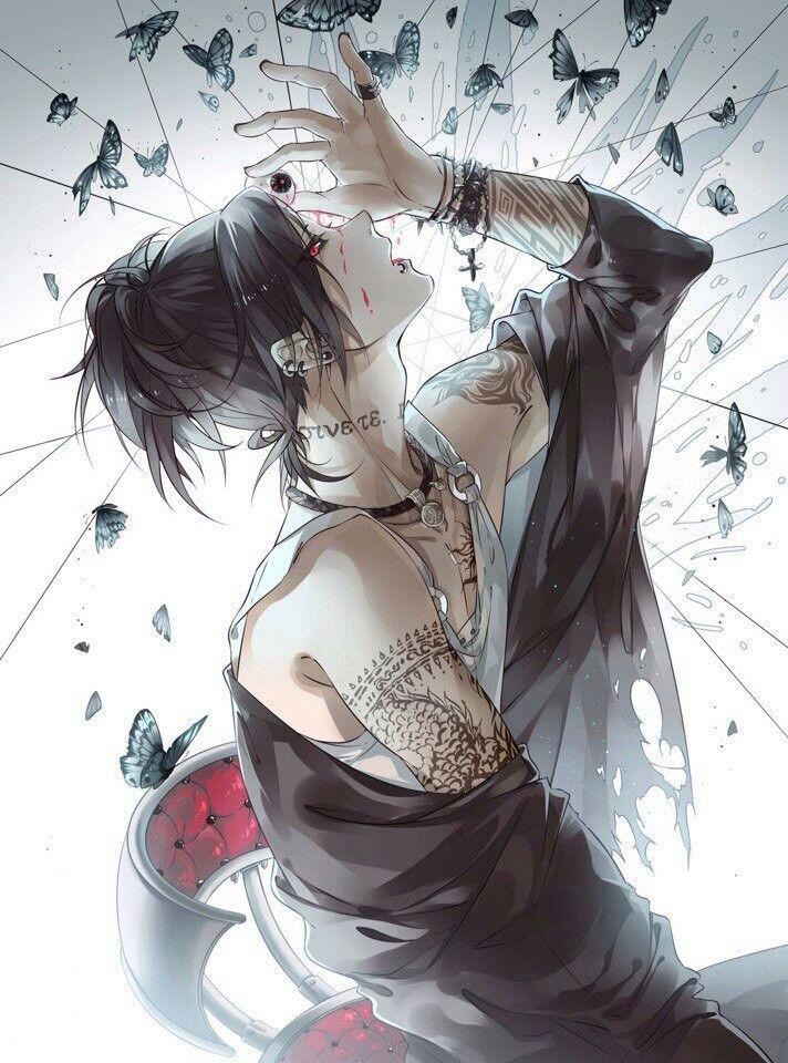 Freetoedit art anime manga kawaii beautiful boy thokyoghoul