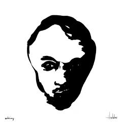 digitaldrawing face drawing blackandwhite myart