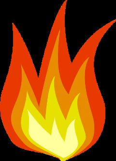 flame fire red orange freetoedit