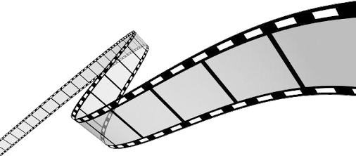 rollo video camara blancoynegro foto