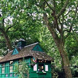 dpcgreen house trees london snackstime freetoedit
