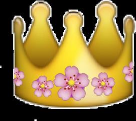 crown flowercrown emoji flower flowers