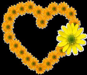 ftestickers flower heart