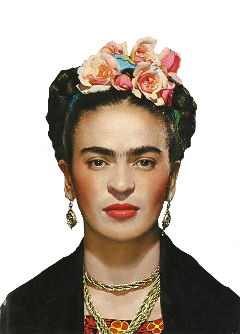 freetoedit ftestickers frida artsystickers
