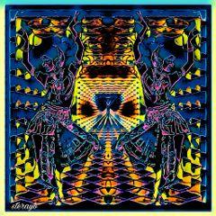 popart retro vintage psychedelic