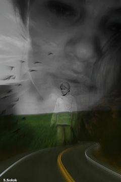 freetoedit blackandwhite portrait emotions face