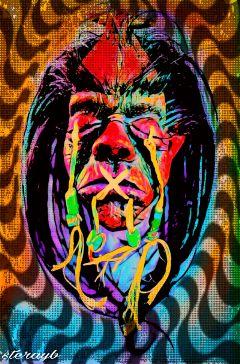 popart color retro vintage psychedelic