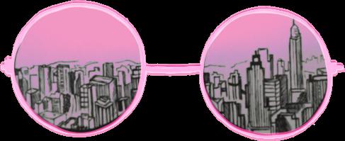 pink glasses freetoedit