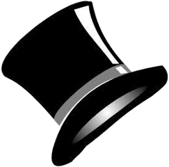 tophat dressup formal hat accessories
