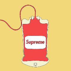 supreme hypebeast bloodbag materialism fashion freetoedit
