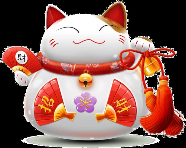 Valuable asian prosperity cat amusing information
