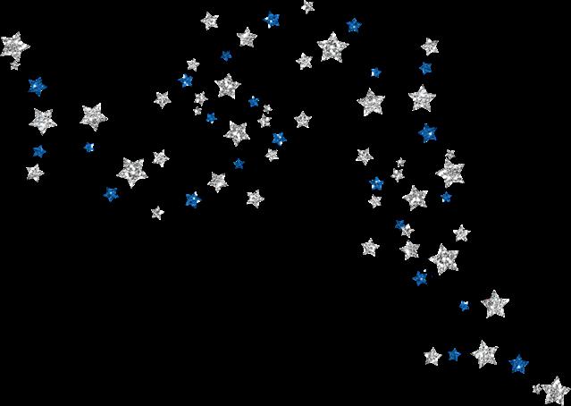 #silver #stars #confetti #blue #bling