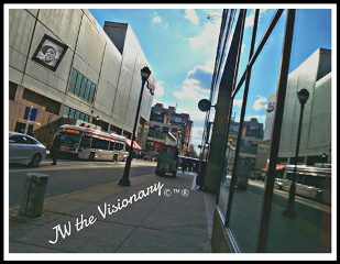 philadelphia str#streetphotography architecture city reflection