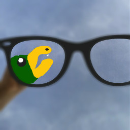 freetoedit perspectiveiseverything bird glasses blurry
