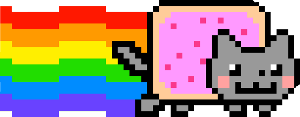 cute kawaii cat nyan nyancat