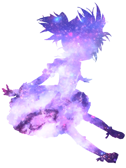 #purple #galaxy #animedoll #anime #doll
