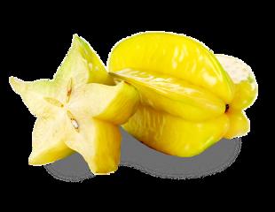 tropicalfruits star starfruit carambola yellow freetoedit