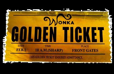 goldenticket golden wonka ticket ticketdorado freetoedit
