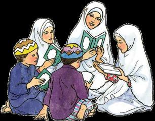 muslims family quran ramadan freetoedit
