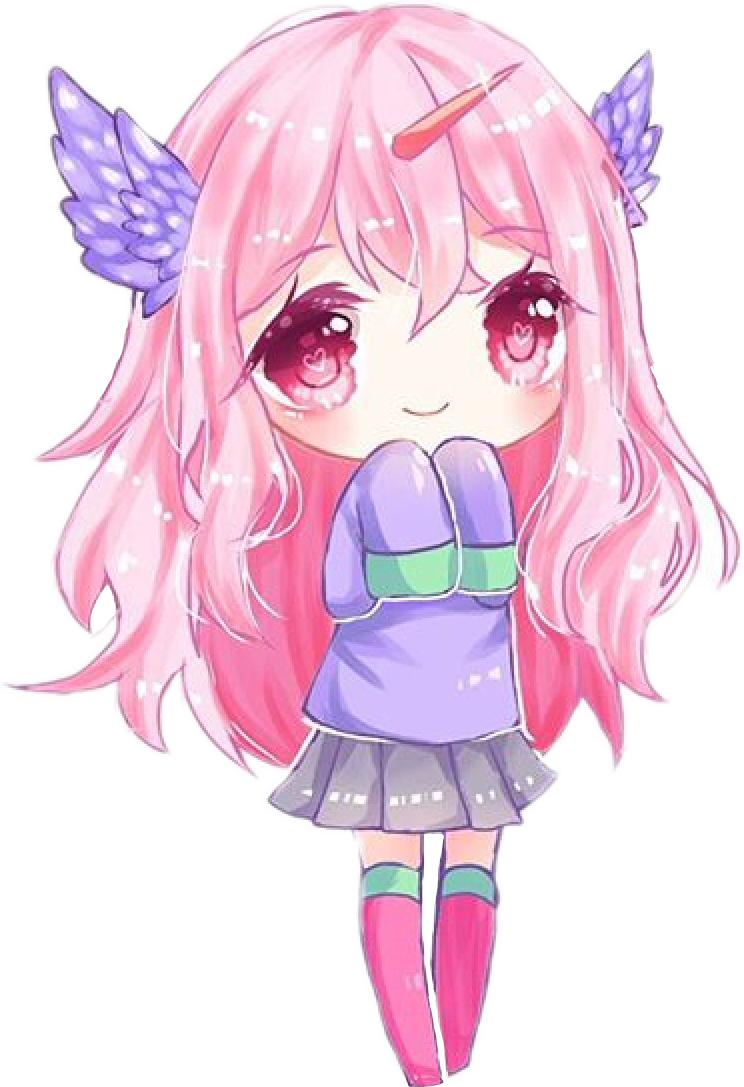 Credits to yenaii :3 #chibi #kawaii #cute #FreeToEdit