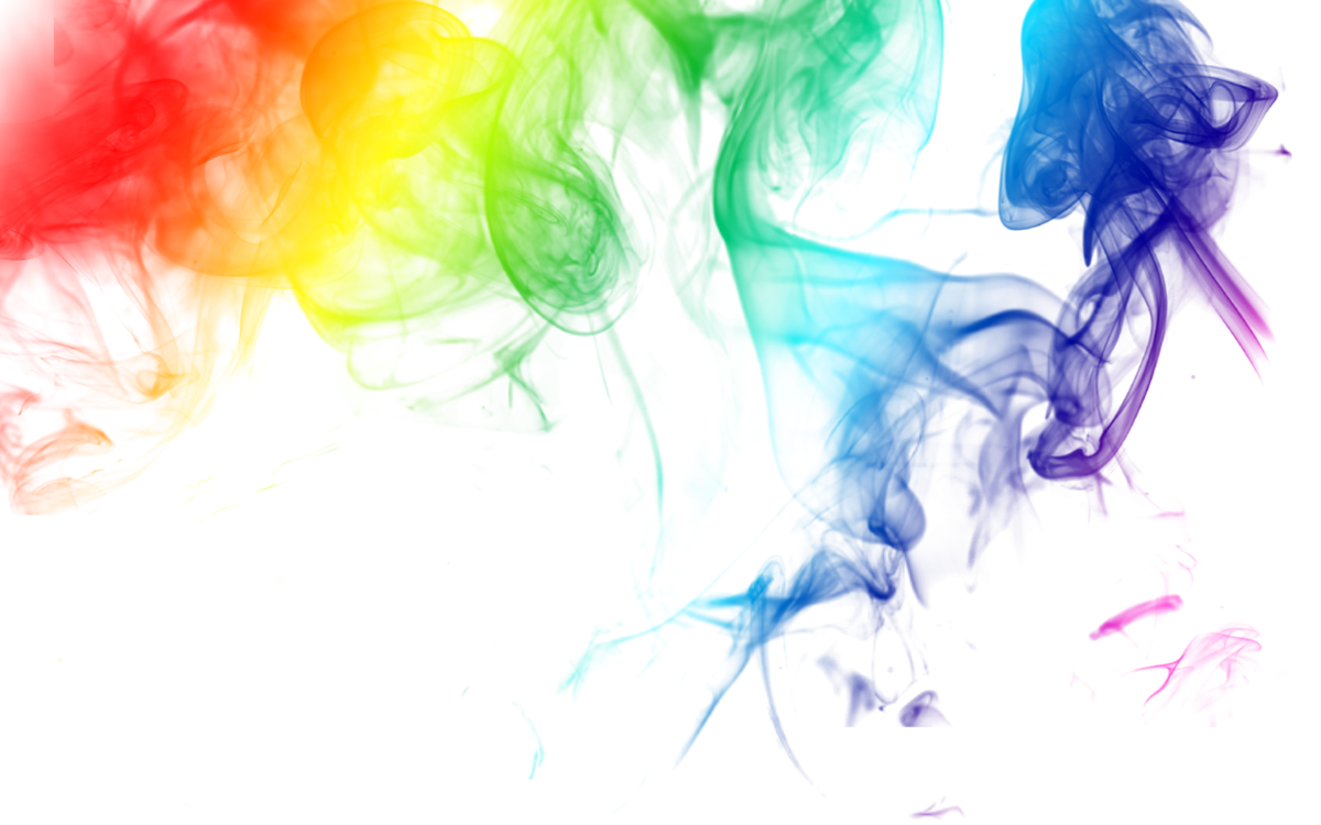 Rainbow Smoky Smoke Colors Blend Colorful Pretty Cool