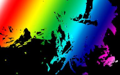 rainbow smoky smoke colors blend