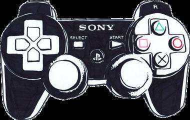 black playstation controller plaustationcontroller videogames