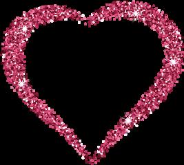 glitterheart glitter heart love valentinesday
