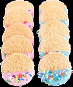 vanilla dipped sprinkles oreos cookies