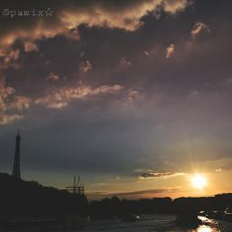 paris parislove sunset travel travelphotography