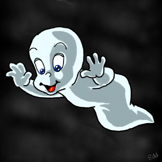 Wdpghost Ghost Casper Spooky Cartoon Character Disney