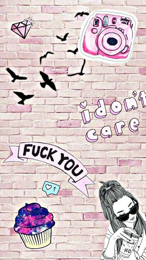 FreeToEdit Wallpaper Tumblr Girl Girly Pink