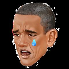 obama emoji freetoedit