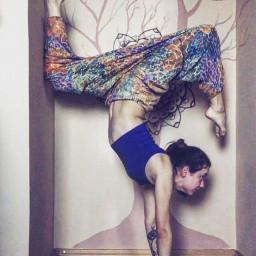 yoga yogagirl mandala