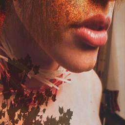 sweettooth lady lips beauty doubleexpesure freetoedit