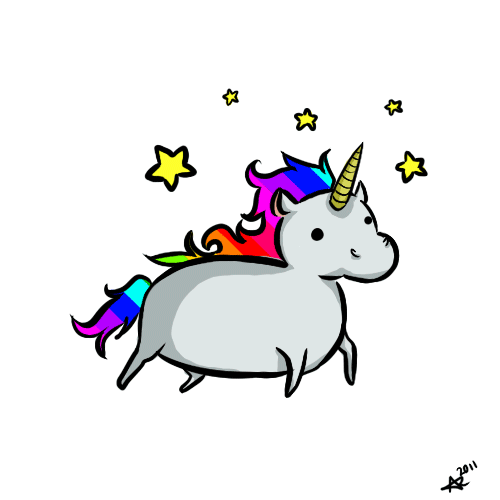 #ftestickers #unicorn