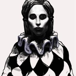 drawing illustration digitalpainting clown
