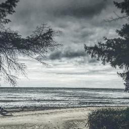 sea seaside beach spring hdr