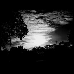 blackandwhite myphoto editedphoto madewithpicsart sky