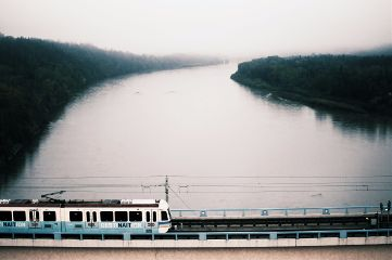freetoedit train fog mist river