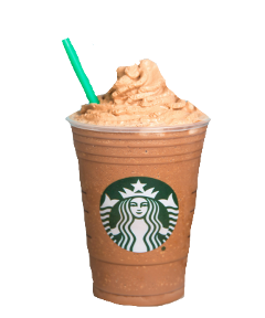 ftestickers freetoedit banana frapuccino starbucks