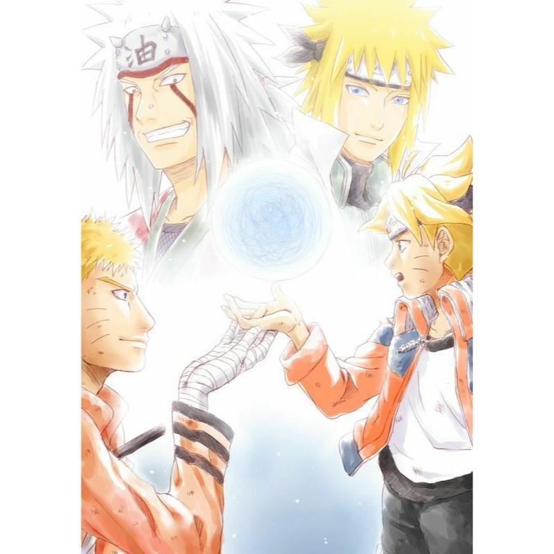 Boruto Jiraiya: Woah.. 💙 * * * * ~Tags: Naruto Boruto Jiraiya Minato
