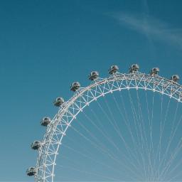 freetoedit ferriswheel sky sunny minimal
