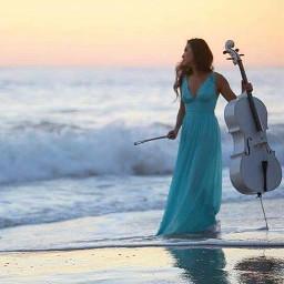 interesting art cellist music metal freetoedit